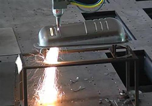 碳板激光切割