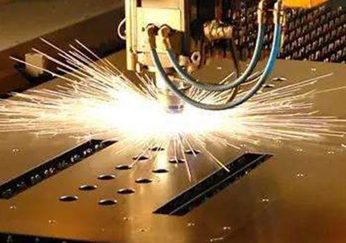 镀锌钢板激光切割
